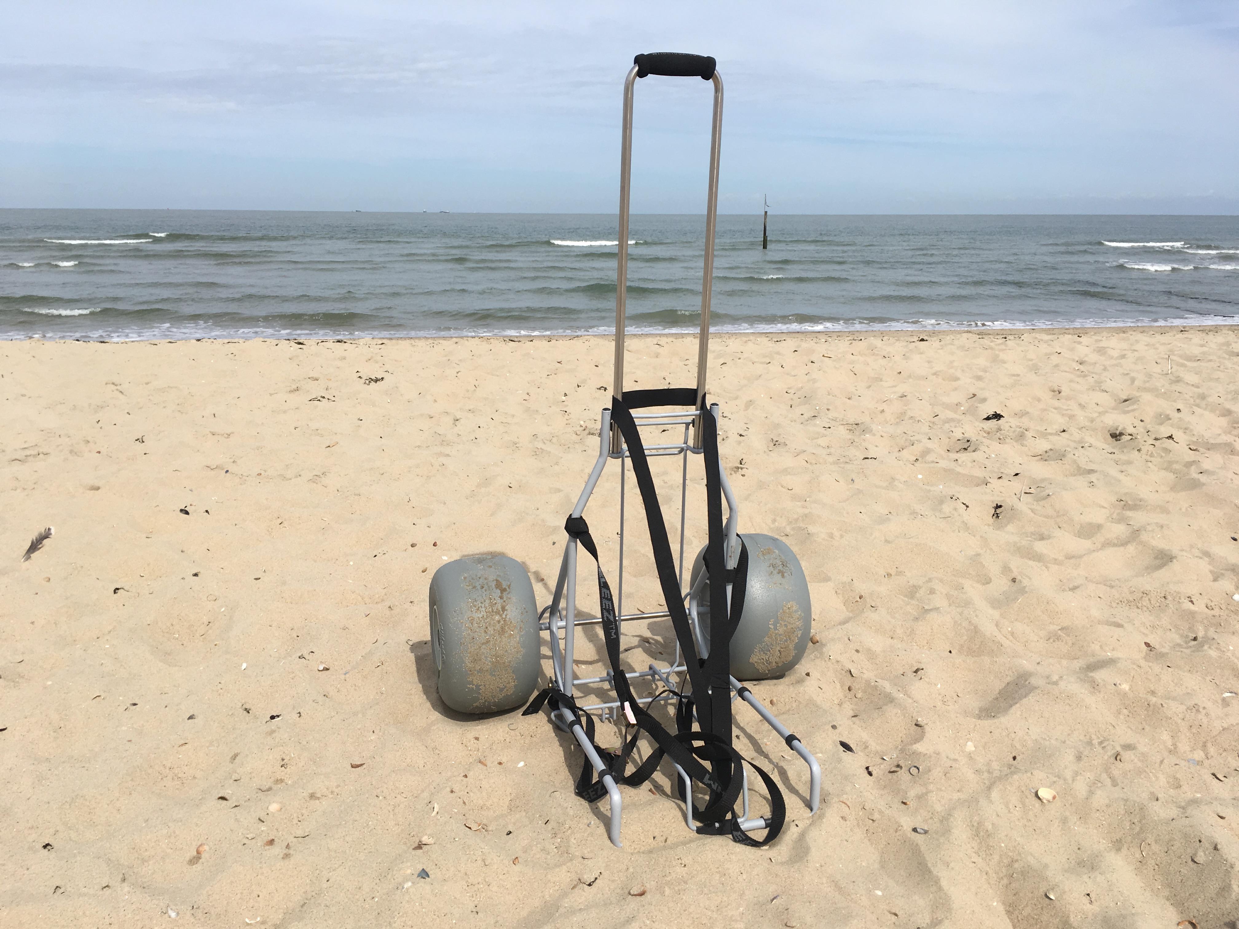 De-Bug rolstoelen voor strand